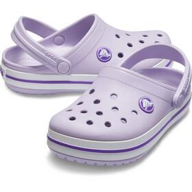 Crocs Crocband Clogsit Lapset, lavender/neon purple